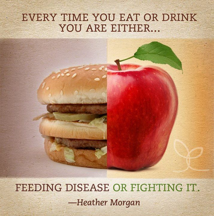 Every time you eat or drink you are either feeding disease or fighting it Eating Healthy Saves You More in the Long Run  diet health
