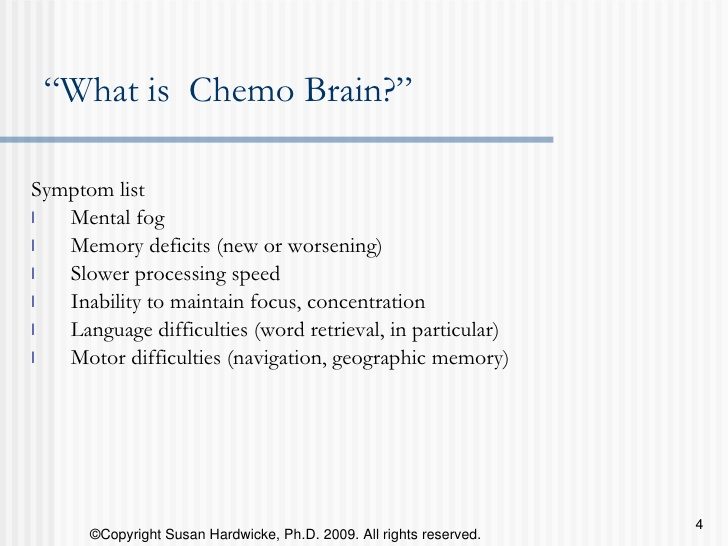 Do I have Brain Fog - Chemo Brain Fog