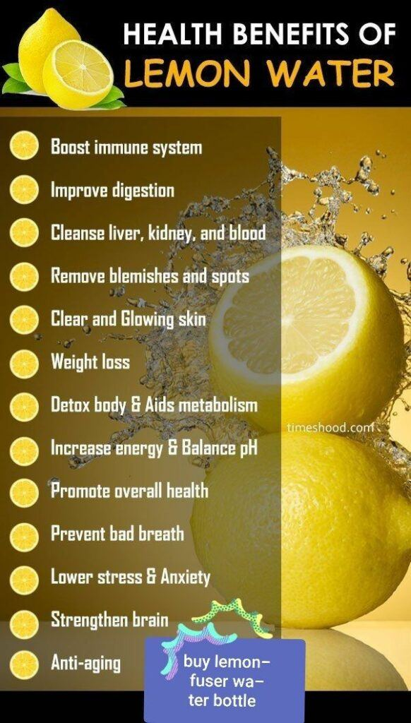 What are the Helath Benefits of Lemon Water? - Lemon Water Benefits