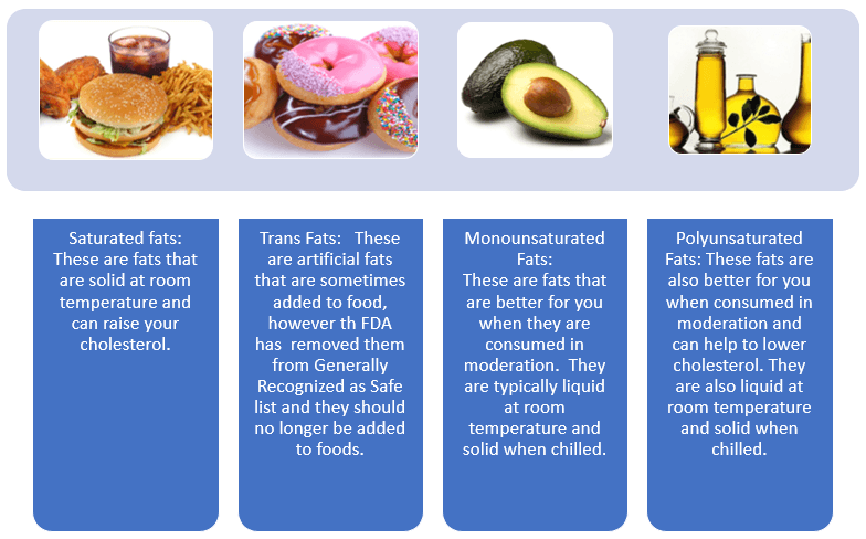 Fat: the Good and the Bad - Types of Fats